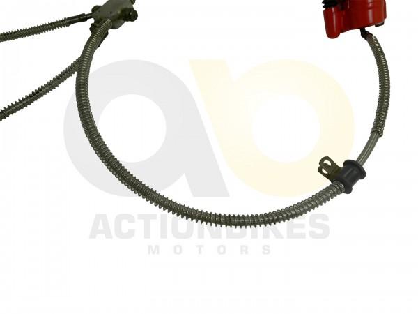 Actionbikes Shineray-XY200ST-6A-Bremsleitung-Verteiler-vorne---Bremssattel-vorne-rechtslinks 3732303