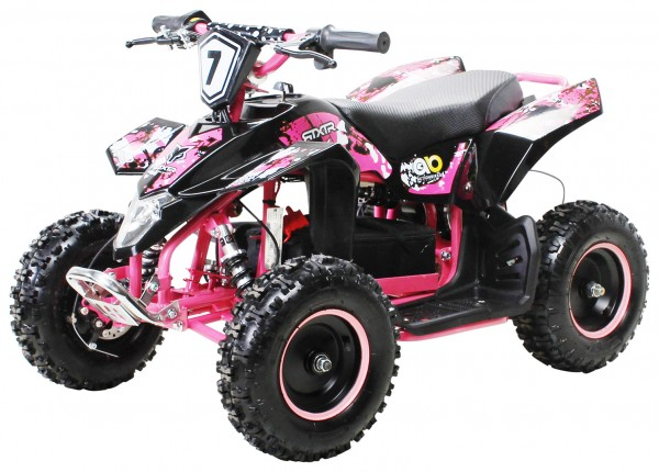 Actionbikes Miniquad-Fox-1000-watt Schwarz-pink 5052303031373839362D3031 startbild OL 1620x1080_9182