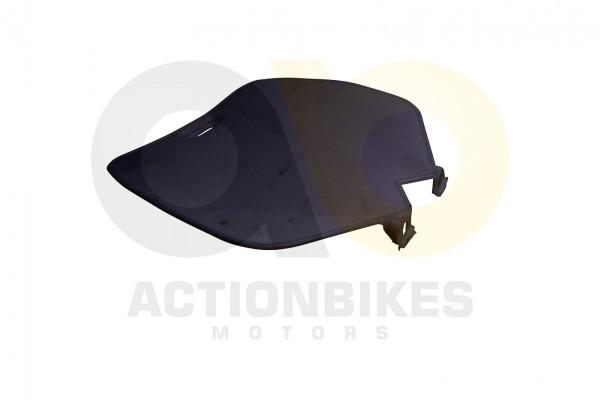 Actionbikes Mini-Cross-Delta-Verkleidung-Nummertafel-vorne-wei-Neue-Version 48442D3130302D3133332D32