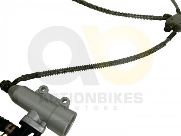 Actionbikes Shineray-XY200ST-6A-Bremsleitung-Verteiler-vorne---Hauptbremszylinder 37323031303336322D