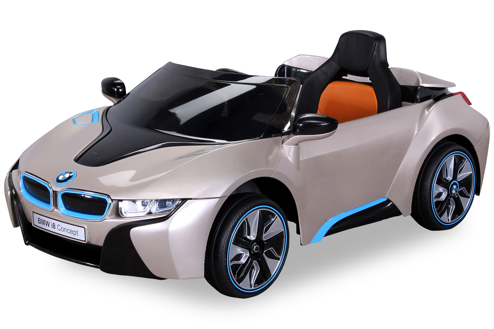 enfants voiture lectrique bmw i8 pour v hicule ebay. Black Bedroom Furniture Sets. Home Design Ideas