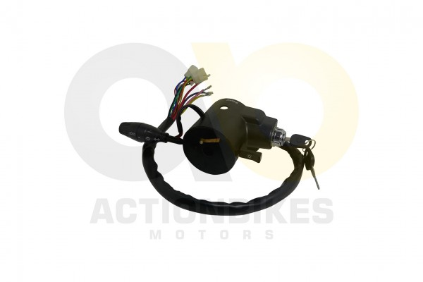Actionbikes Kinroad-XT650GK-Schalteinheit-mit-Zndschlo-und-Blinkerhebel 4B4D303034303130303030 01 WZ