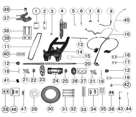 Rear_Tire_Suspension_Mechanism