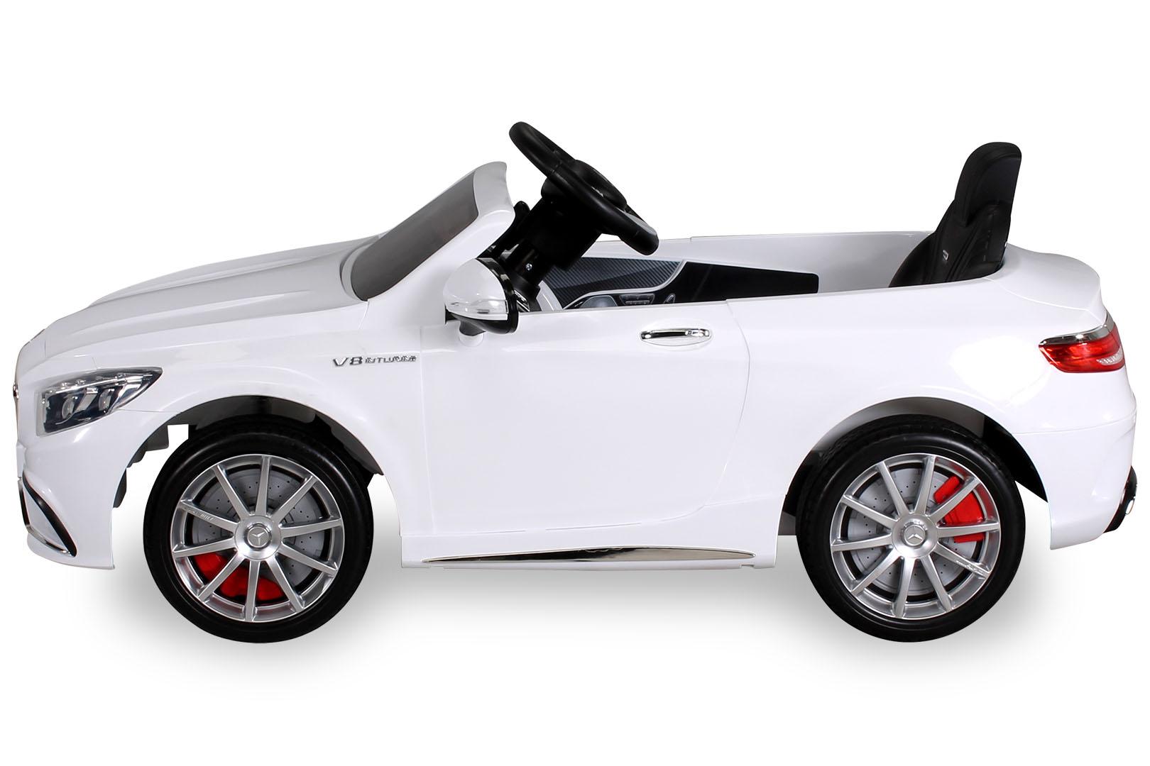 kinder elektro mercedes benz amg s63 kinderauto kinderfahrzeug elektrofahrzeug ebay. Black Bedroom Furniture Sets. Home Design Ideas
