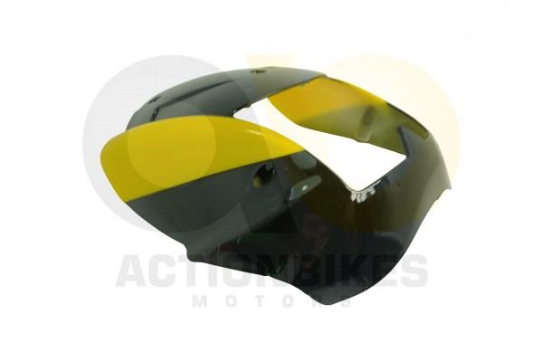 Actionbikes Miniquad-Elektro49-cc-Verkleidung-Scheinwerfer-schwarzgelb 57562D4154562D3032342D322D32