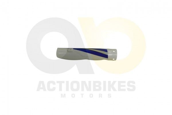 Actionbikes Highper-Mini-Crossbike-Gazelle-49-cc-2-takt--500W-Verkleidung-Gabel-vorne-links-Blau 485