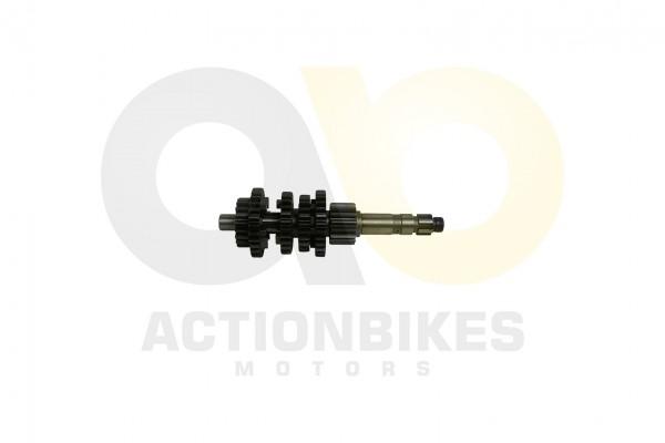 Actionbikes Shineray-XY350ST-EST-2E-Getriebehauptwelle-Getriebeeingangswelle 32333232302D504530332D3