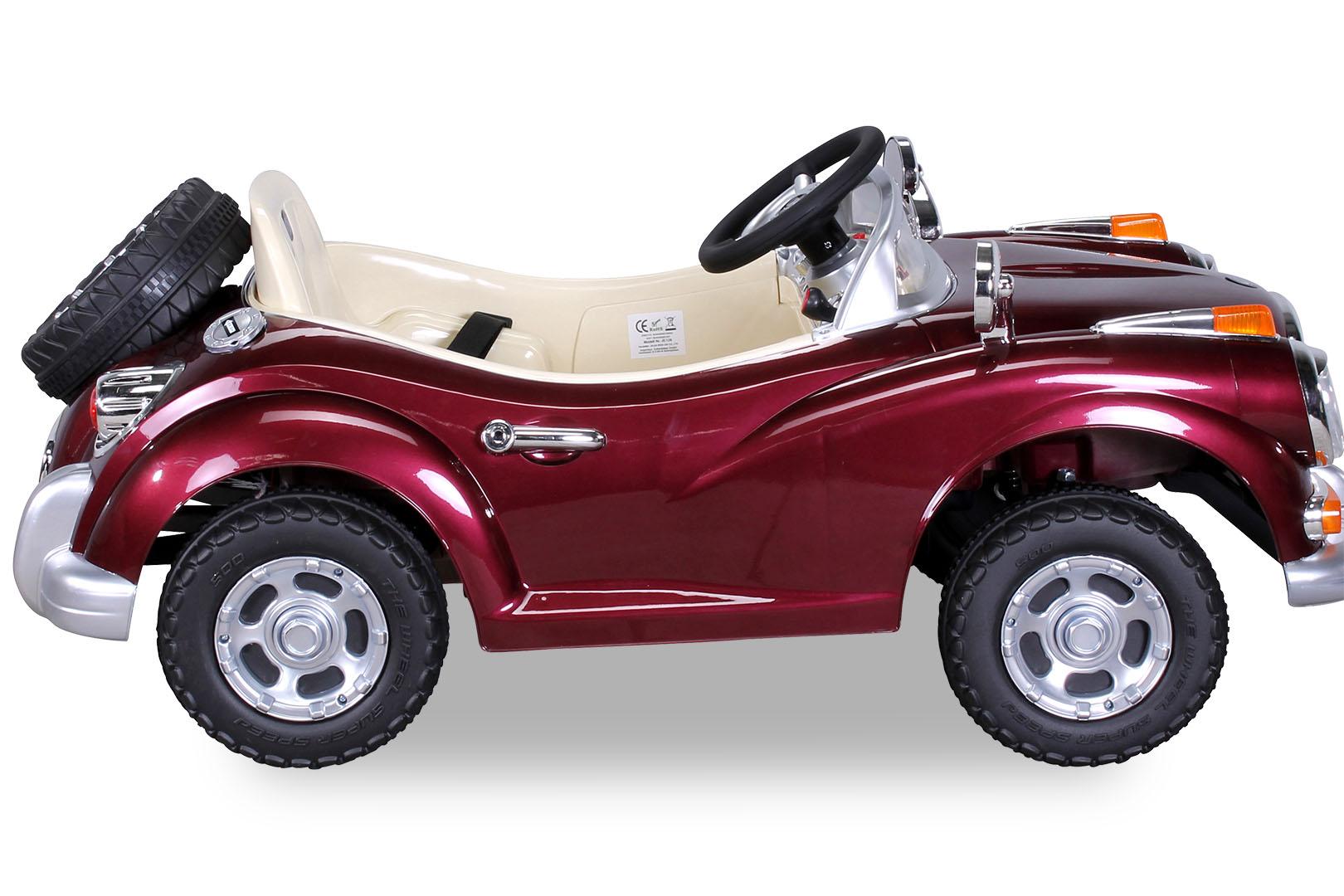 enfants voiture lectrique oldtimer pour v hicule jouet. Black Bedroom Furniture Sets. Home Design Ideas