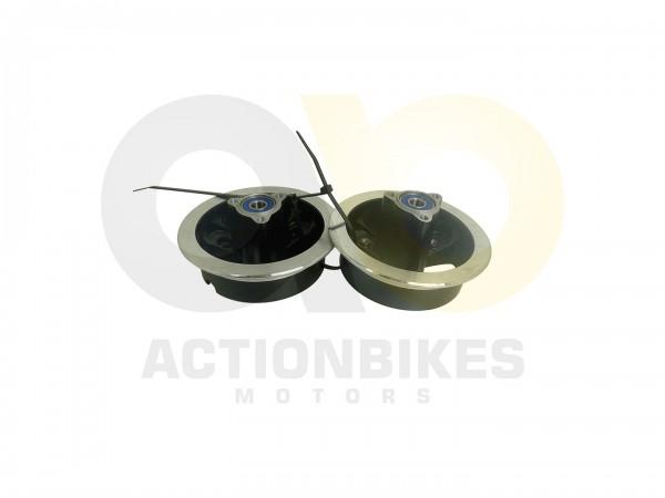 Actionbikes T-Max-eFlux-Felge-hinten-schwarzsilber--D26mm-Mittenloch--mit-Lager-6000-2RS 452D464C555