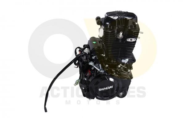 Actionbikes Shineray-XY250STXE-Motor-Luftgekhlt-167FMM-schwarz 31303030302D3037312D30303030 01 WZ 16