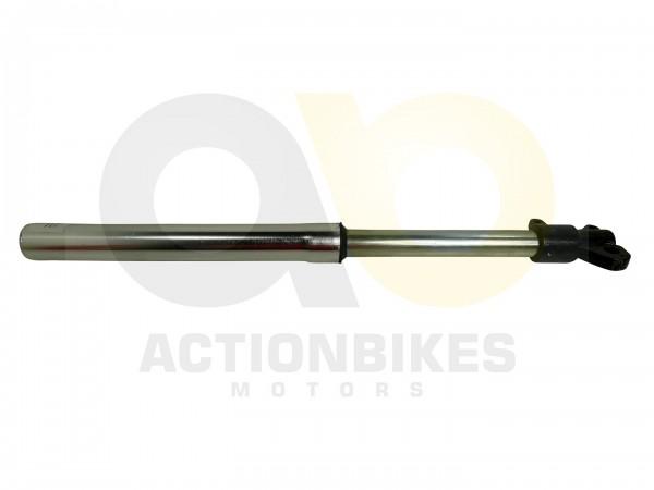 Actionbikes Highper-Mini-Crossbike-Gazelle-49-cc-2-takt--500W-Stodmpfer-vorne-links-mit-Bremssattela