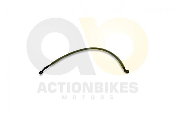 Actionbikes XYPower-XY500ATV-Bremsleitung-Bremszylinder-vorne-rechts-Verteiler-vorne-680-mm 35393639