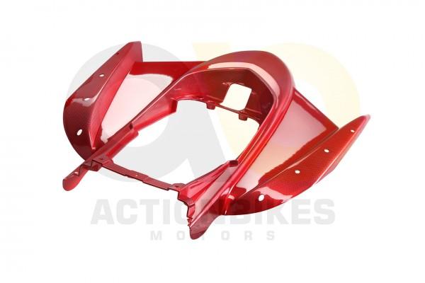 Actionbikes Jinling-Speedslide-JLA-21B-Speedtrike-JLA-923-B-Verkleidung-hinten-carbondunkelrot-Speed