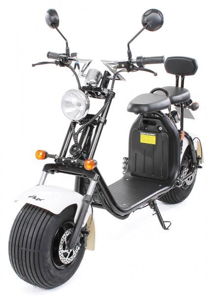Actionbikes Harley-Scooter-1500-Watt Schwarz-Weiss 5052303031393837312D3035 startbild OL 1620x1080_9