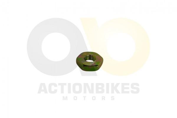 Actionbikes Motor-1E40QMA-Mutter-M10x10-fr-Getriebeeingangswelle-und-Fliekraftkupplung 47422F5436313