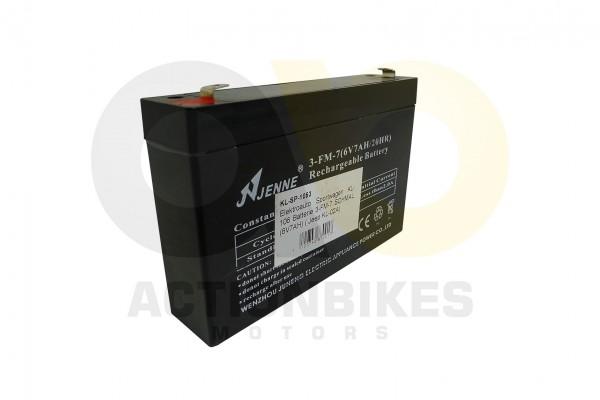 Actionbikes Elektroauto-Sportwagen-KL-106-Batterie-3-FM-7-SCHMAL-6V7AH--Jeep-KL-02A 4B4C2D53502D3130