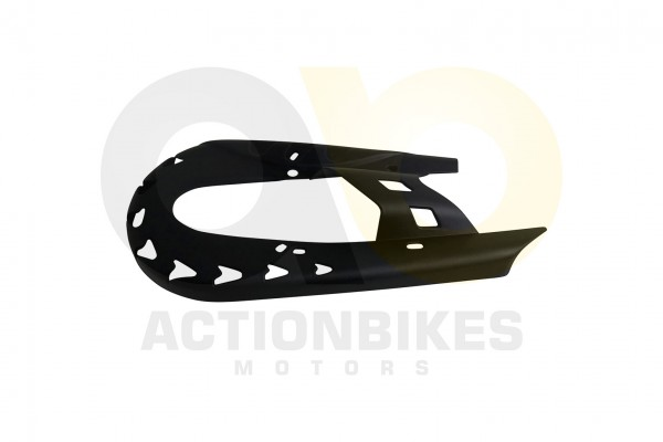 Actionbikes Highper-Mini-Crossbike-Gazelle-49-cc-2-takt-Kettenschutz-schwarz 48502D475A2D34392D31303
