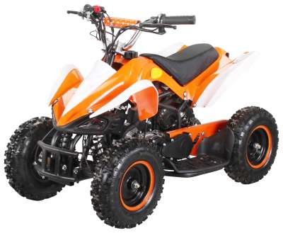 Orange/Weiß