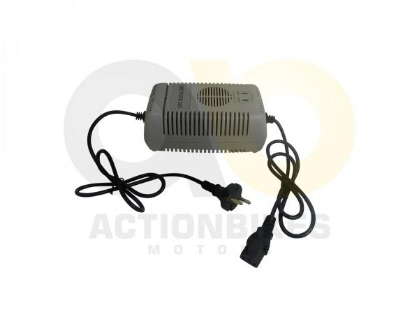 Actionbikes Shengqi-Buggy-8001000-Watt-Ladegert-3-Pin-rechteckiger-Stecker-48V-25A 5351383030474B2D4