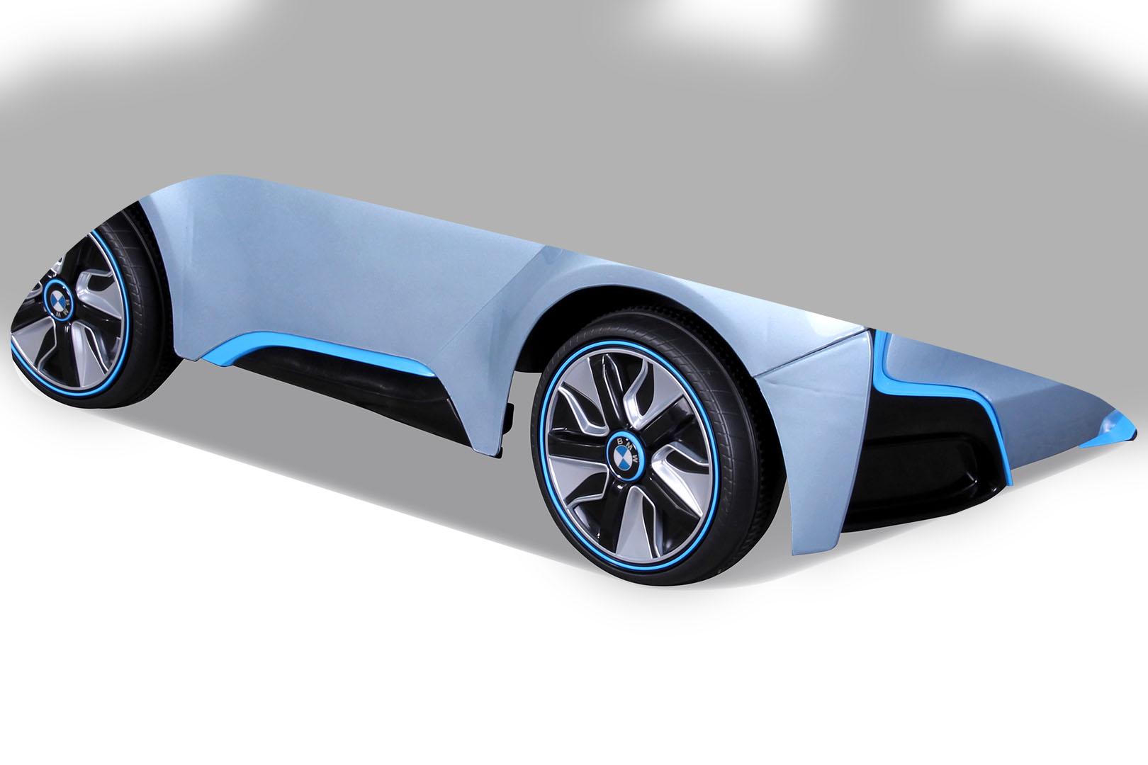 enfants voiture lectrique bmw i8 pour v hicule ebay. Black Bedroom Furniture Sets. Home Design Ideas