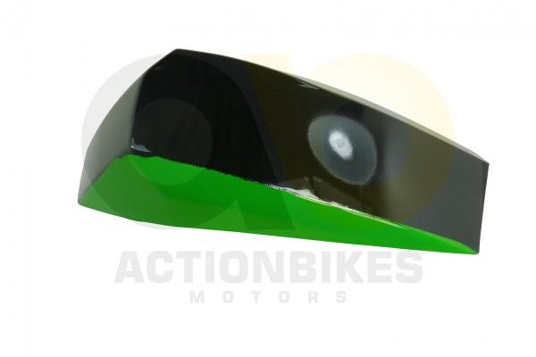 Actionbikes Miniquad-Elektro49-cc-Kotflgel-vorne-und-hinten-links-schwarzgrn 57562D4154562D3032342D3