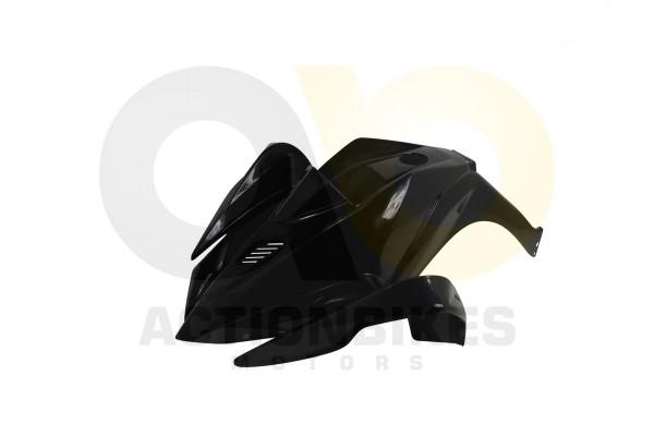 Actionbikes Miniquad-Elektro49-cc-Racer-Verkleidung-schwarz-vorne 57562D4154562D3032342D342D31302D38