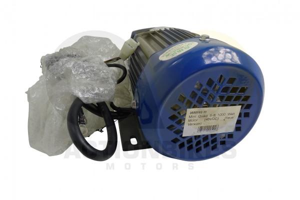 Actionbikes Mini-Quad-S-8--S-10-1000-Watt-Motor-48VDC-neue-Version-silber-mit-blauem-Deckel 33353530