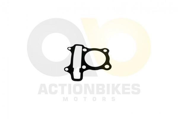 Actionbikes Motor-JJ152QMI-JJ125-Dichtung-Zylinderkopf-Metall 31323235312D475935322D303030 01 WZ 162