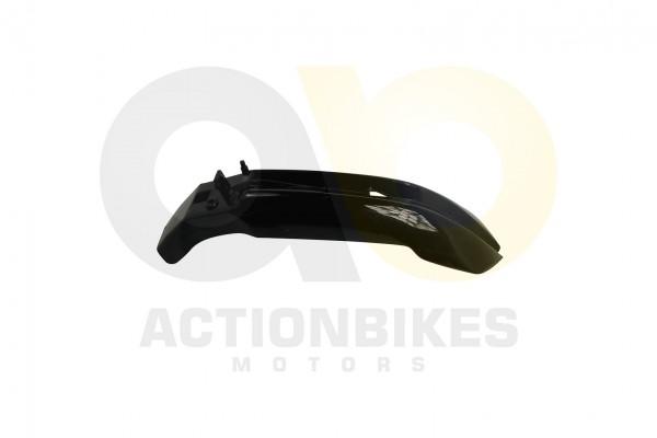 Actionbikes Mini-Crossbike-Delta-49-cc-2-takt-Schutzblech-vorne-schwarz-Neue-Version 48442D3130302D3