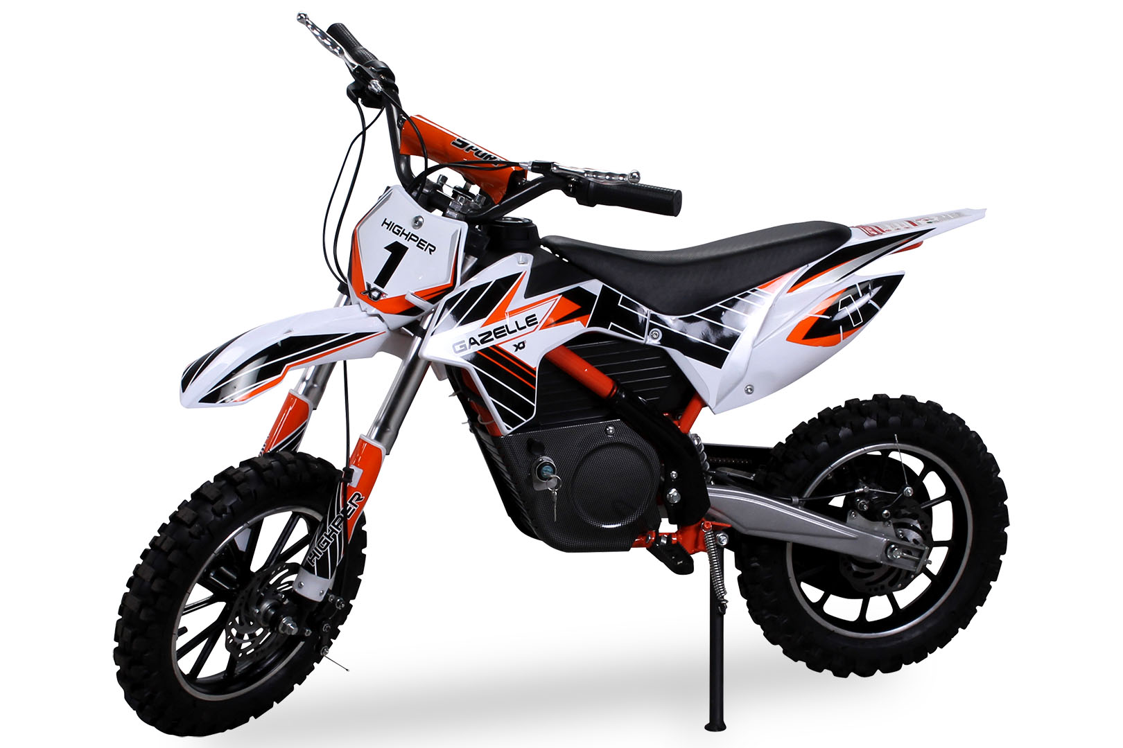 children 39 s mini electric crossbike gazelle 500 watt motorcross bike pocket cross ebay. Black Bedroom Furniture Sets. Home Design Ideas