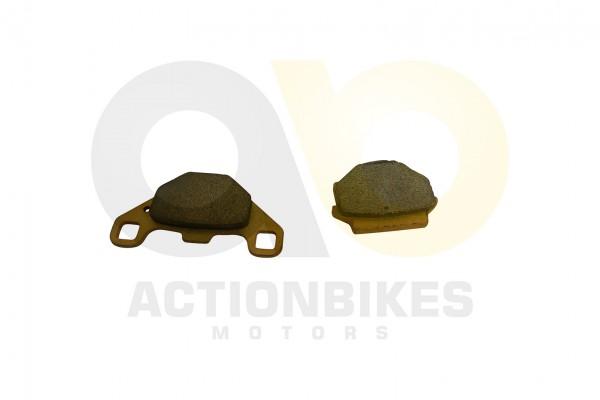 Actionbikes Bremsbelge-vorne-BS400S-hinten-200ST-9--STXE--BS250S-5B--XY500ATV--UTV-Odes-150--STXE-PL