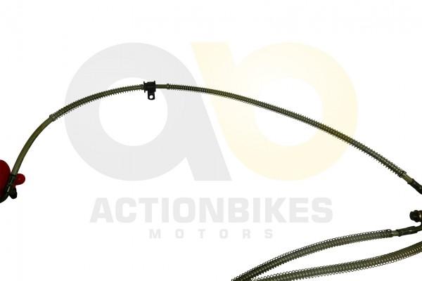 Actionbikes Shineray-XY200ST-9-Bremsleitung-Bremssattel-vorne-links---Verteiler-vorne 34353138303033