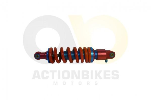 Actionbikes Lingying-250-203E-Stodmpfer-hinten-rot-verstellbar--Aufnahme-OU 3530333032302D4C534E3232
