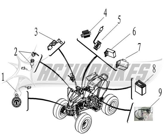 Maddex 50cc | Eagle | Quads/ATV | Ersatzteile | miweba GmbH