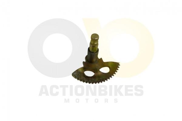 Actionbikes 1PE40QMB-Motor-50cc-Kickstarterwelle-mit-Hlse-Halbmond 32383235302D4B424E2D39303130 01 W