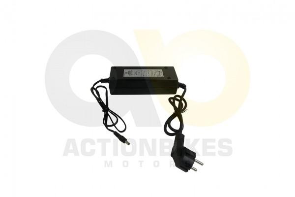 Actionbikes Elektro-Alu-Klappfahrrad-ROCO-Ladegert-42V-2A-Einpinstecker 452D4B4C313330302D30303032 0