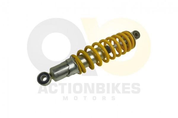 Actionbikes Mini-Quad-110-cc-Stodmpfer-vorne-S-3BS-5S-8--24cm-Auge-mitte-Auge-mitte-gelbe-Feder 3335