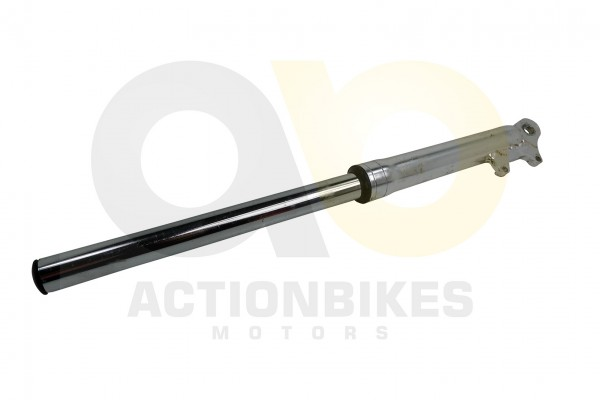 Actionbikes Mini-Cross-Delta-Stodmpfer-vorne-links-mit-Bremssattelaufnahme-silber 48442D3130302D3036