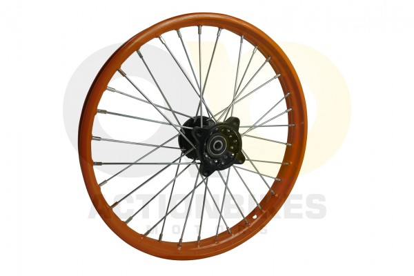 Actionbikes Huabao-Crossbike-JC125cc-Felge-vorne-orange-17-Neue-Version 48422D3132352D312D33322D31 0
