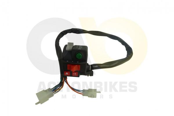 Miniquad 49 cc Schalteinheit links