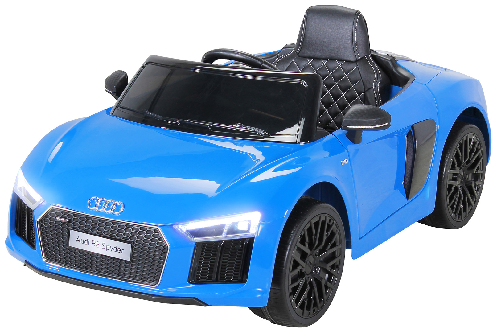 kinder elektroauto audi r8 spyder lizenziert miweba gmbh. Black Bedroom Furniture Sets. Home Design Ideas