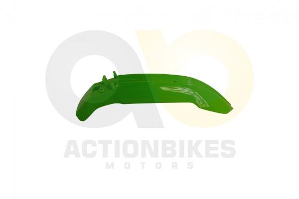 Actionbikes Mini-Crossbike-Delta-49-cc-2-takt-Schutzblech-vorne-Grn-Neue-Version 48442D3130302D31303