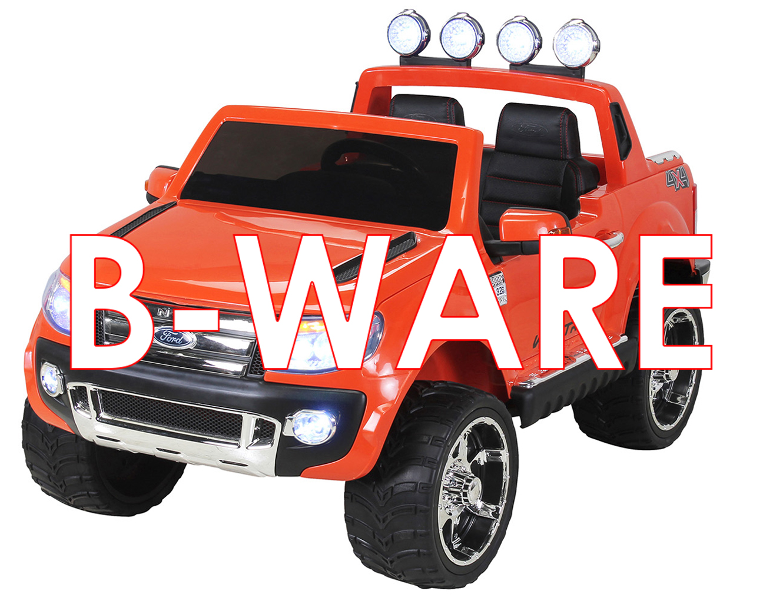 b ware kinder elektroauto ford ranger lizenziert 2 x 45. Black Bedroom Furniture Sets. Home Design Ideas