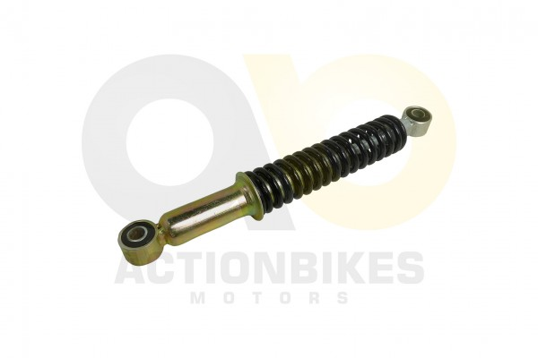 Actionbikes Mini-Quad-110-cc-Stodmpfer-vorne-S-3BS-5S-8--24cm-Auge-mitte-Auge-mitte-schwarze-Feder 3
