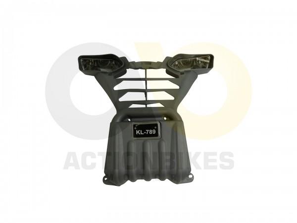 Actionbikes Elektroquad-KL-789-Verkleidung-vorne-grau-mit-Scheinwerferattrappen 4B4C2D51532D33303036