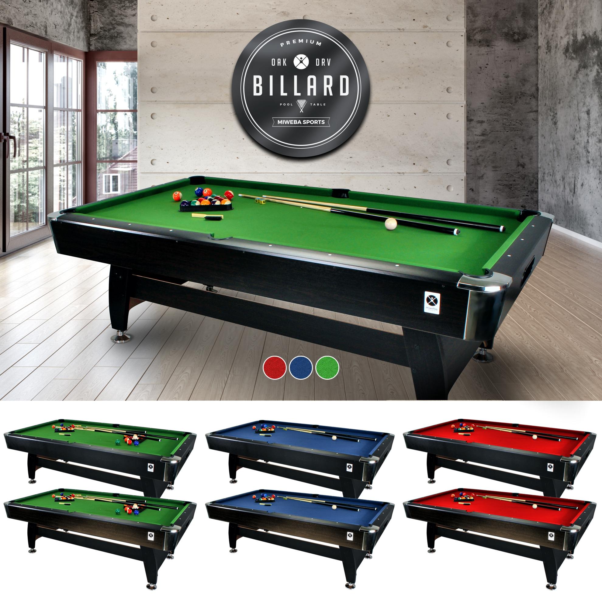 Miweba mesa de billar 7 ft billar billiardtisch billar piscina 7 pie billiard ebay - Mesa billar 8 pies ...