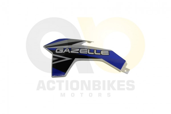 Actionbikes Highper-Mini-Crossbike-Gazelle-49-cc-2-takt--500W-Verkleidung-vorne-links-Blau 48502D475