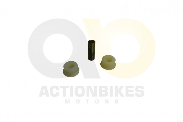 Actionbikes Shineray-XY250STXE-Querlenker-Reparaturset-2Serie--2-x-plastik-Buchse-1-x-Metalhlse-SRM