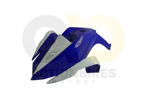 Actionbikes Miniquad-Elektro49-cc-Racer-Verkleidung-blauwei-vorne 57562D4154562D3032342D342D31322D31