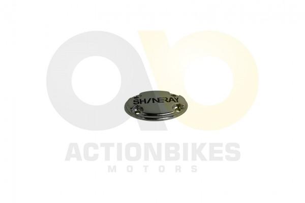 Actionbikes Shineray-XY250STXE-Chrom-Deckel-mitShineray-Logo-links-SRM 31313431322D3037312D30303030